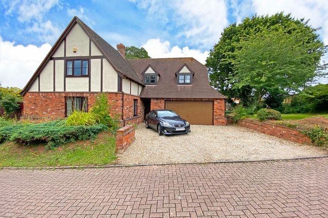 Thumbnail Detached house for sale in Badger Close, Exeter