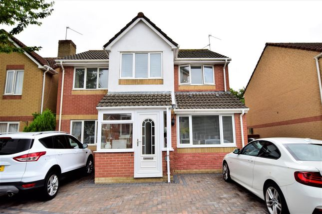 Thumbnail Detached house for sale in Thistle Close, Barry