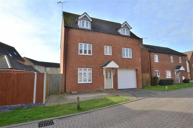 Thumbnail Detached house for sale in Finbracks, Stevenage, Herts