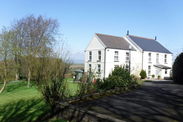 Thumbnail Detached house for sale in Rosemead House, The Common, Llanrhidian, Gower, Swansea