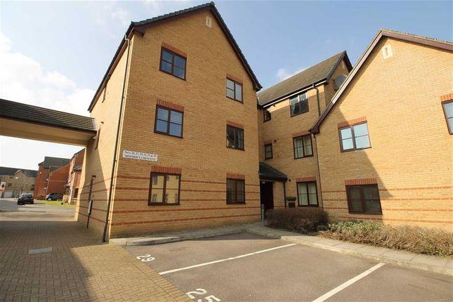 Thumbnail Flat to rent in Miserden Crescent, Westcroft, Milton Keynes