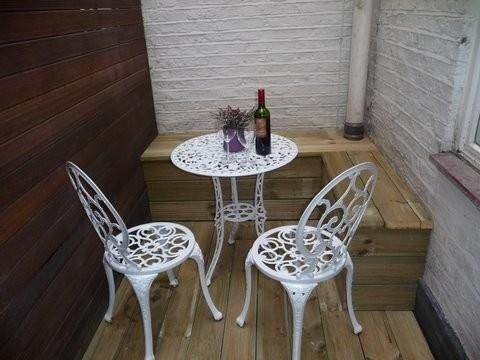 Patio Shot of Linden Gardens, Notting Hill W2