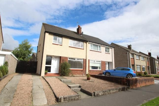 Thumbnail Semi-detached house for sale in Balmuildy Road, Bishopbriggs, Glasgow, East Dunbartonshire