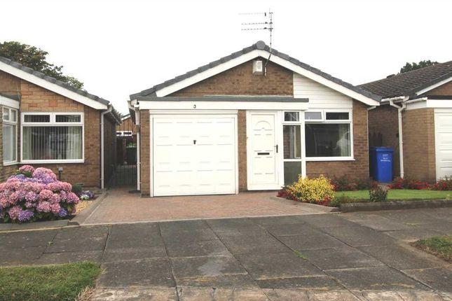 Thumbnail Bungalow for sale in Gresham Close, Southfield Green, Cramlington