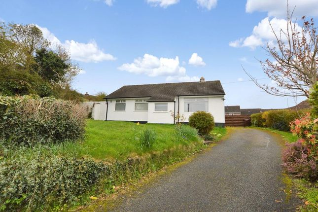 Thumbnail Detached bungalow for sale in Barkers Hill, St Stephens, Saltash, Cornwall