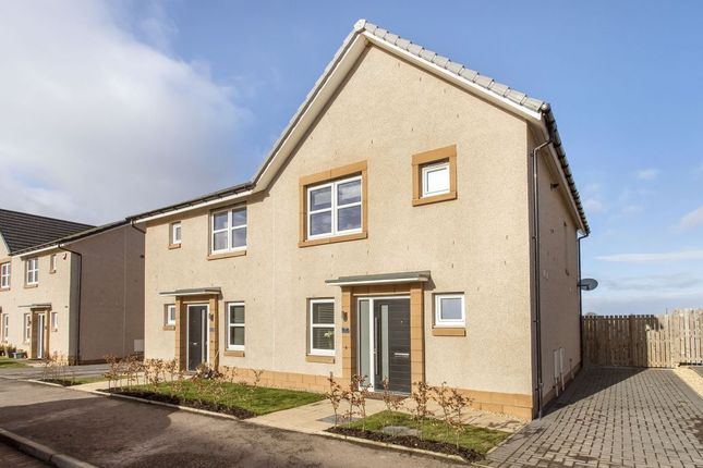 Thumbnail Semi-detached house for sale in Shiel Hall Grove, Rosewell