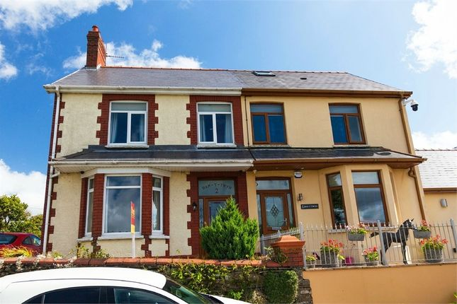 Thumbnail Semi-detached house for sale in Black Road, Pontypridd, Mid Glamorgan
