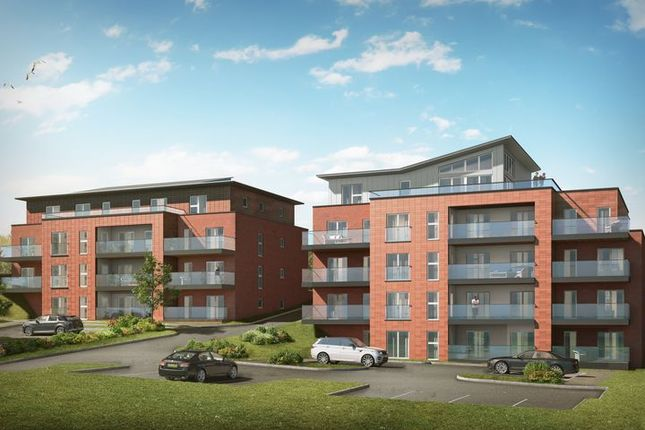 Thumbnail Flat for sale in Penthouse Apartment, Plot 21, The Lookout, Holbeck Hill, Scarborough