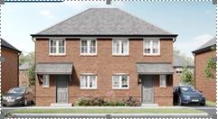 Thumbnail Semi-detached house for sale in Gerddi Prestwitch, Llay