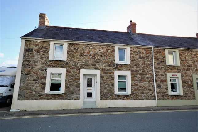 3 bed end terrace house for sale in Hamilton Street, Fishguard SA65