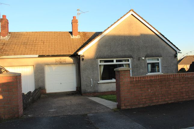 Thumbnail Semi-detached bungalow for sale in Lon Cae Porth, Cardiff