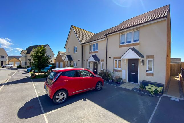 Thumbnail End terrace house for sale in Pintail Close, Bude, Cornwall