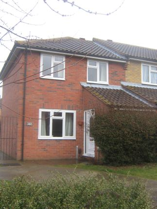 Thumbnail Semi-detached house to rent in Diligent Drive, Sittingbourne