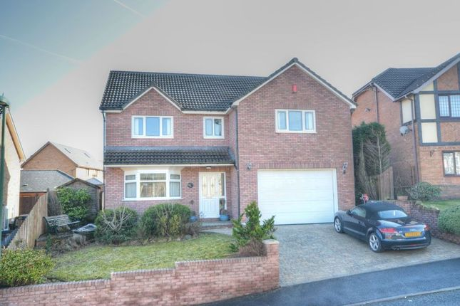 Thumbnail Detached house for sale in Lakeside Close, Tredegar