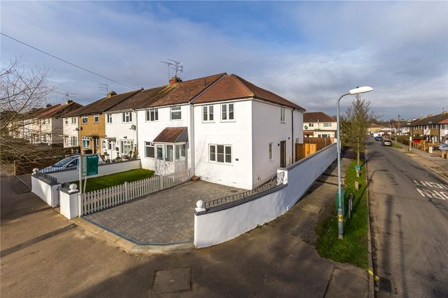 Thumbnail End terrace house for sale in Napsbury Avenue, London Colney, St. Albans, Hertfordshire