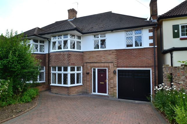 Thumbnail Semi-detached house to rent in Richmond Drive, Watford