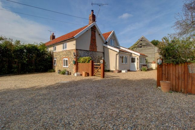 Thumbnail Semi-detached house for sale in Smallworth Common, Garboldisham, Diss