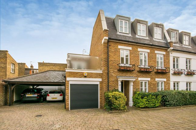 Thumbnail Semi-detached house to rent in Rush Hill Mews, Clapham Common North Side