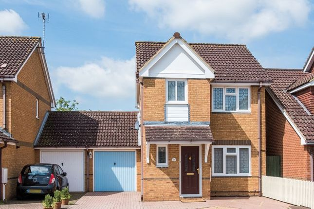 Thumbnail Detached house for sale in Kalman Gardens, Old Farm Park, Milton Keynes