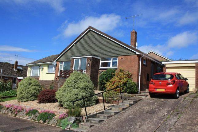 Thumbnail Semi-detached bungalow for sale in Raleigh Road, Ottery St Mary, Devon