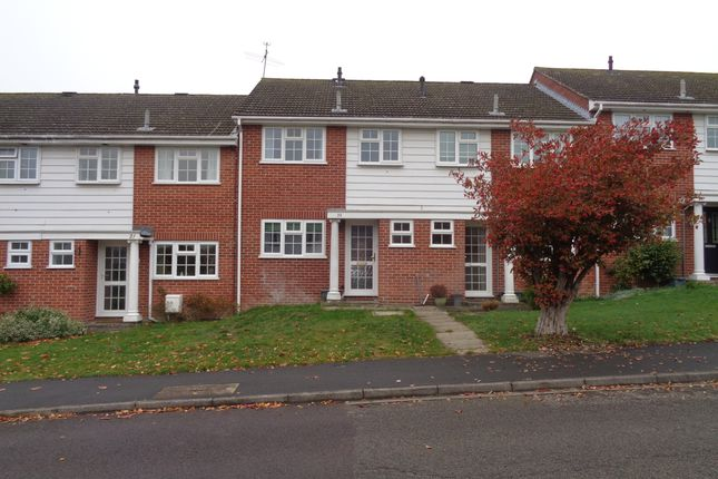 Thumbnail Terraced house to rent in Harebell Close, Hartley Wintney