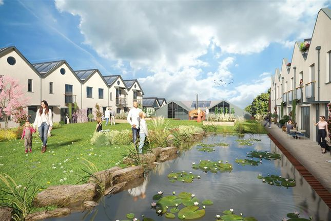 Visualisation of Eco-Home, Water Lilies, The Old Reservoir, Kings Weston, Bristol BS11
