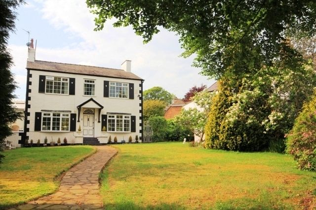 Thumbnail Detached house to rent in 6 The Lydiate, Lower Heswall, Wirral