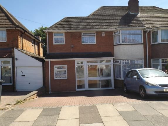 Thumbnail Semi-detached house for sale in Twycross Grove, Hodge Hill, Birmingham, West Midlands