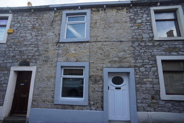 Thumbnail Terraced house to rent in Duck Street, Clitheroe, Lancashire