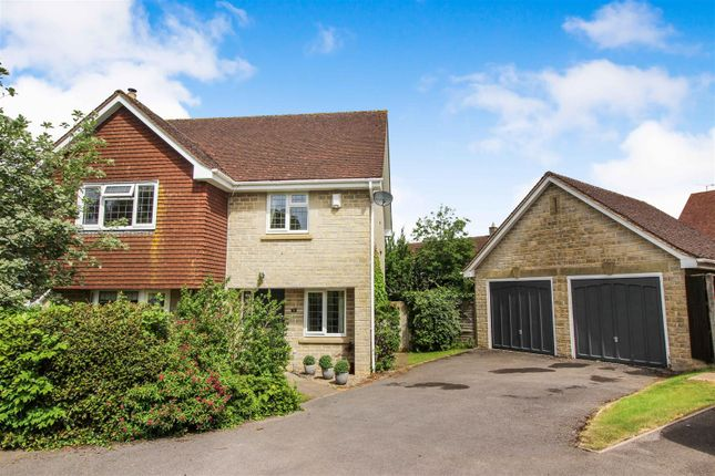 Thumbnail Detached house for sale in Sandes Close, Chippenham