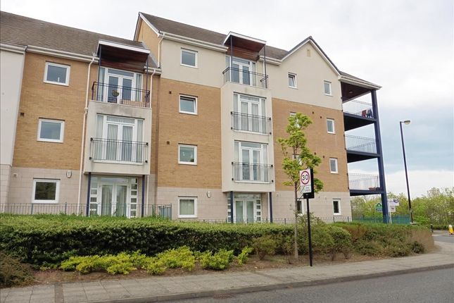 Thumbnail Flat to rent in Brandling Court, Hackworth Way, North Shields