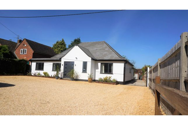 Thumbnail Detached bungalow for sale in London Road, Basingstoke