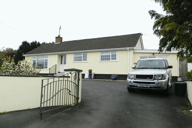 Thumbnail Detached bungalow for sale in Velindre, Llandysul