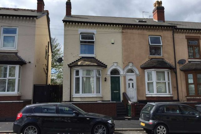 Thumbnail Terraced house to rent in Highfield Road, Saltley, Birmingham