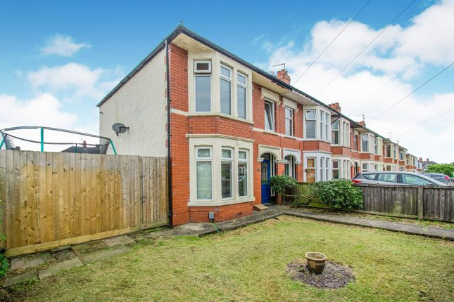 Thumbnail End terrace house for sale in Cromwell Road, Birchgrove, Cardiff