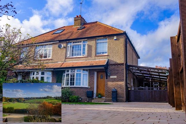Thumbnail Semi-detached house for sale in House With Detached Annexe, Stocking Lane, Hughenden Valley