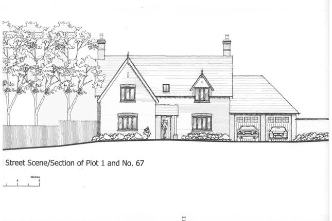 Thumbnail Land for sale in The Croft, 67 Church Street, Donisthorpe, Derbyshire
