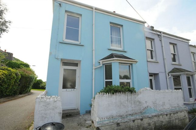 Thumbnail End terrace house to rent in Penmere Hill, Falmouth