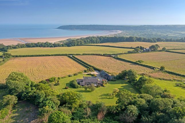 Thumbnail Detached house for sale in Nicholaston, Swansea, Gower