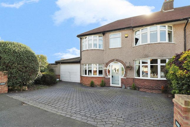 Thumbnail Semi-detached house for sale in Coniston Close, Bexleyheath