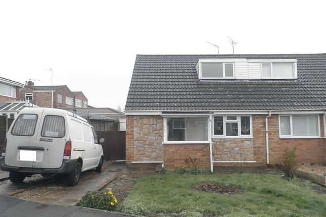 Thumbnail Semi-detached house to rent in Firs Drive, Rugby