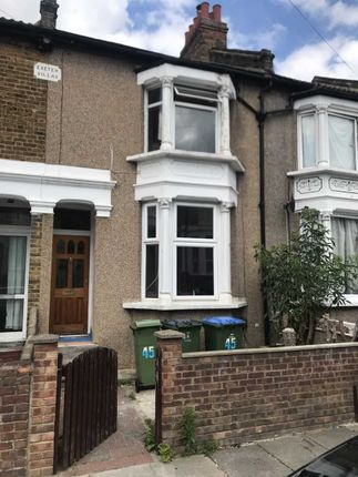 Thumbnail Terraced house to rent in Saunders Road, London