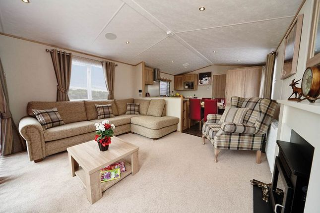 Thumbnail Lodge for sale in Carnaby Helmsley Lodge, Crook O'lune Holiday Park, Caton Road, Lancaster