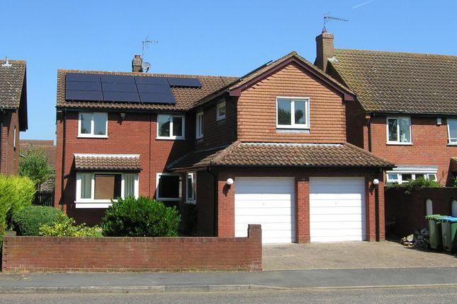 Thumbnail Detached house to rent in Wing, Leighton Buzzard