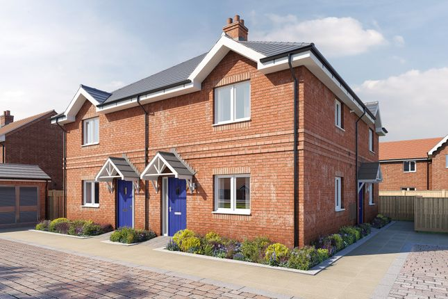 1 bedroom semi-detached house for sale in The Kingsbury At Birnam Mews, Oak Road, Stratford-Upon-Avon