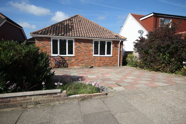 Thumbnail Detached bungalow to rent in Hillrise Avenue, Sompting