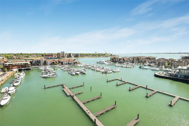 Thumbnail Flat to rent in The Hawkins Tower, Admirals Quay, Ocean Way, Southampton, Hampshire