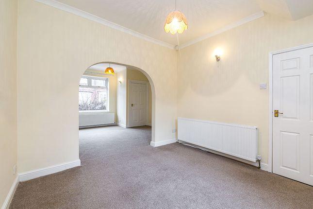 Dining Room of Frances Terrace, Bishop Auckland, County Durham DL14