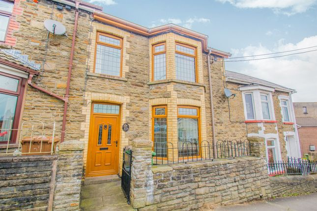 Thumbnail Terraced house for sale in Capel Street, Bargoed