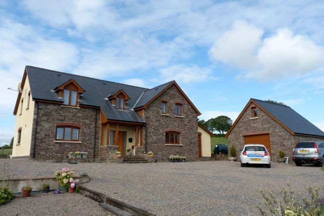 Thumbnail Detached house to rent in Talachddu, Brecon